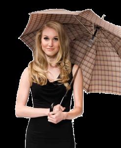paraguas con 5 años de garantía