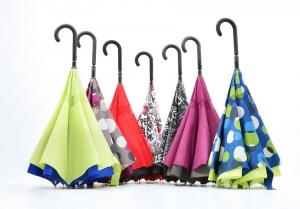 paraguas que cierran al revés doppler crazy con doble tela