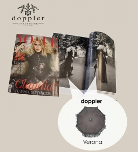 paraguas doppler en la revista vogue