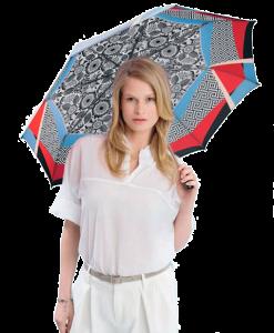 paraguas knirps marca punto rojo