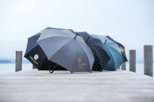 paraguas para publicidad doppler