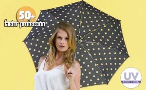 paraguas proteccion solar rayos uva knirps elegante