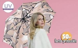 paraguas con protección solar rayos uva knirps clasico