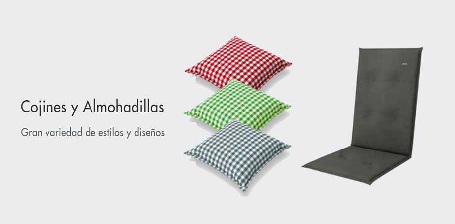 Cojines y almohadillas para su jardín - Doppler
