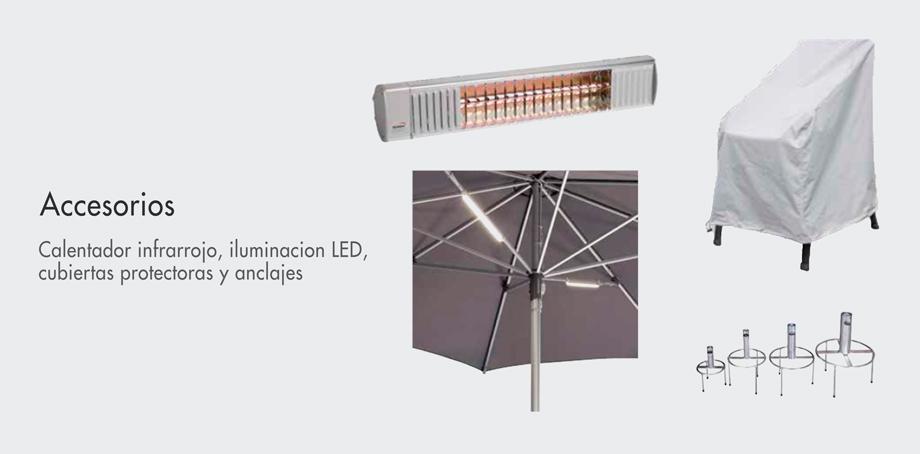 accesorios y anclajes doppler - Paraguas Doppler