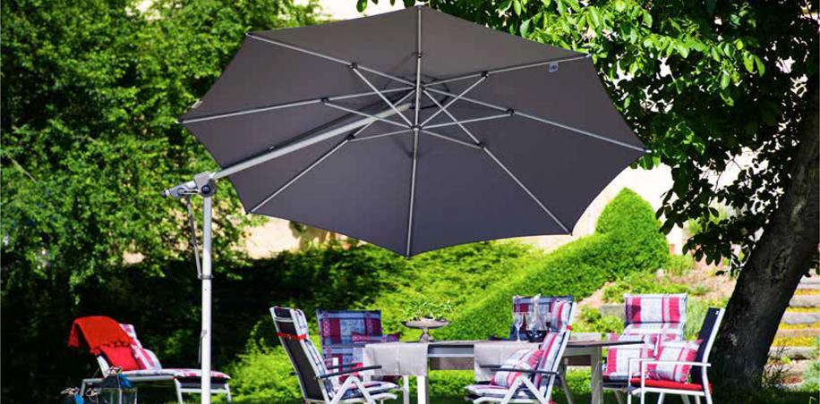 Parasoles y accesorios de jardin - Doppler