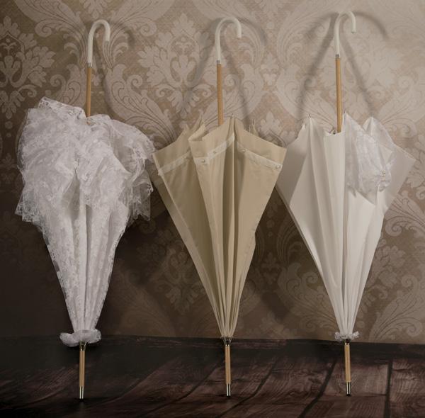 Paraguas boda y novia