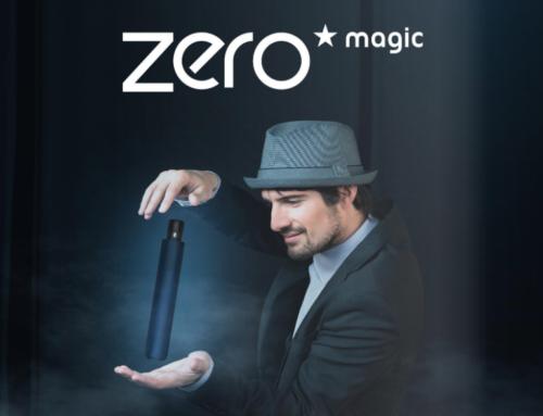 Nuevo Zero Magic, el paraguas automático para abrir y cerrar